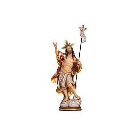 Statua Risurrezione colorato Val Gardena s2