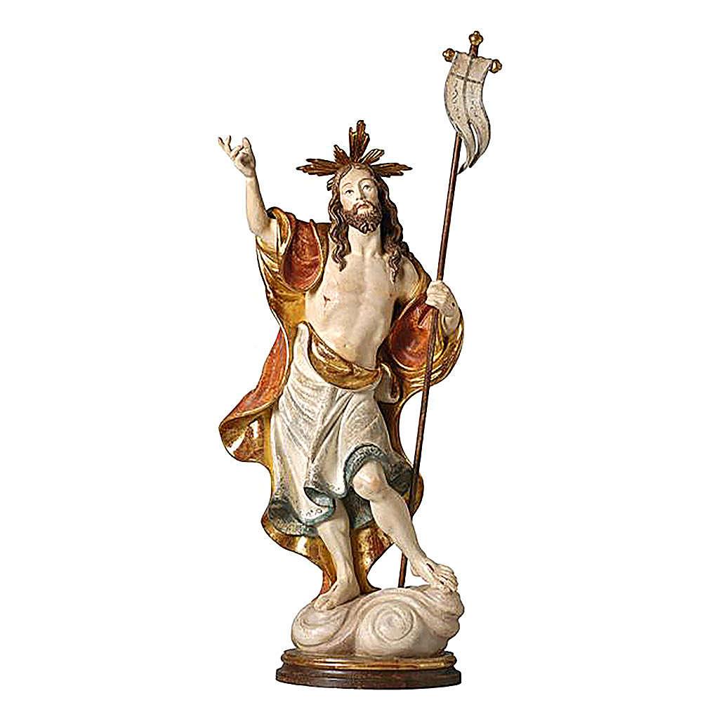 Estatua Resurrección oro de tíbar antiguo 4