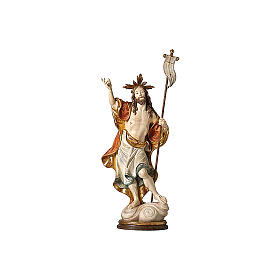 Estatua Resurrección oro de tíbar antiguo s2