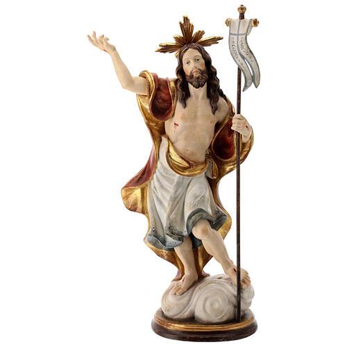 Estatua Resurrección oro de tíbar antiguo
