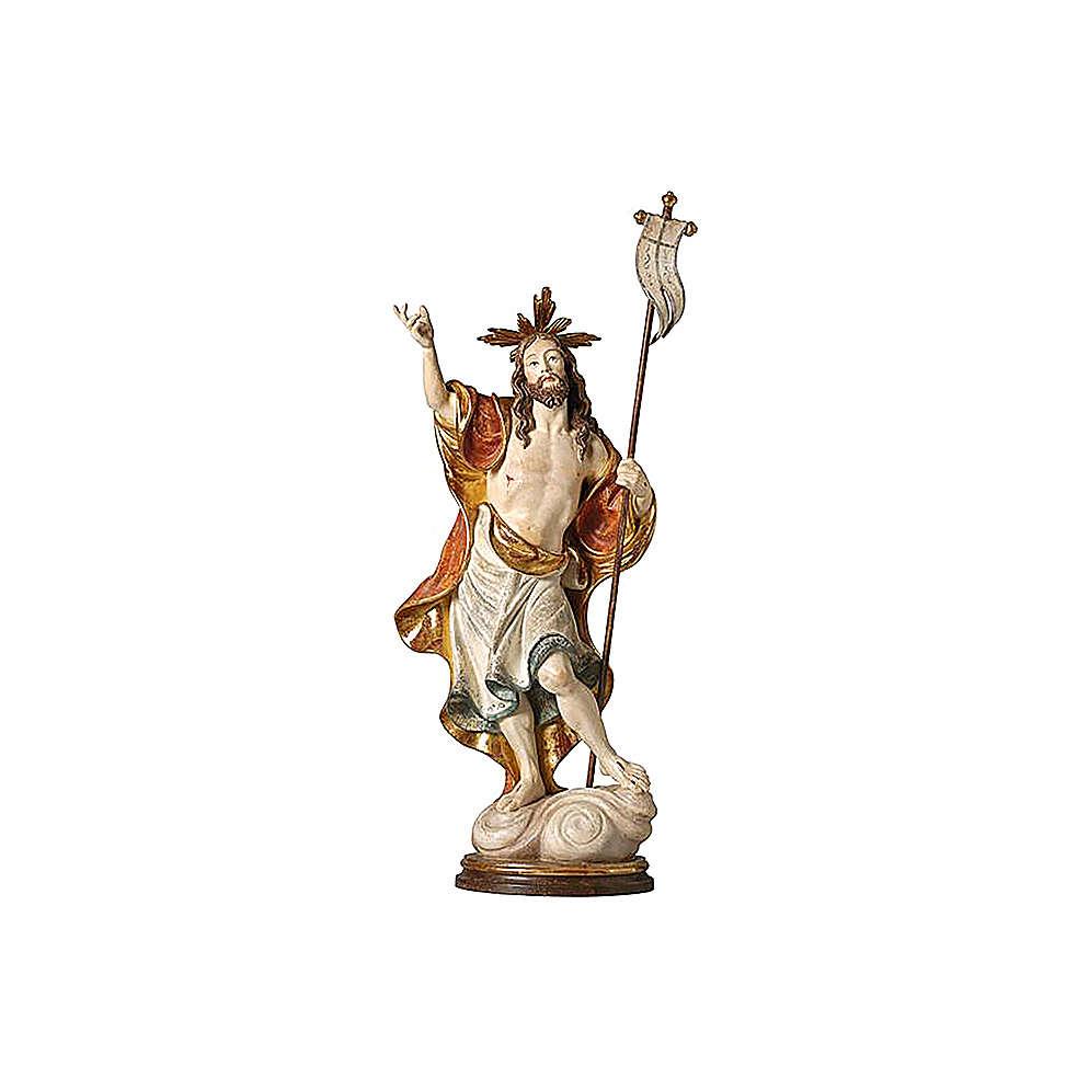 Statua Risurrezione oro zecchino antico 4