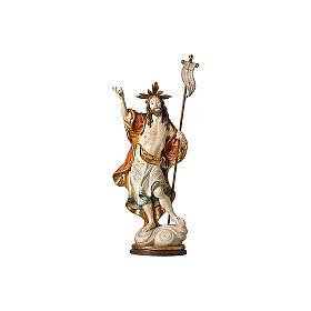 Statua Risurrezione oro zecchino antico s2
