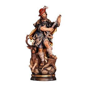 Statua Risurrezione oro zecchino antico s3