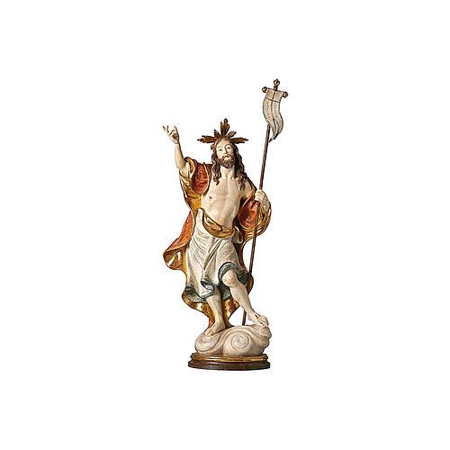 Statua Risurrezione oro zecchino antico 2
