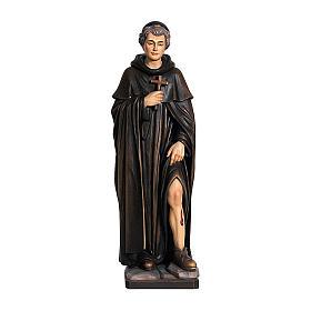 San Peregrino legno colorato Valgardena s1
