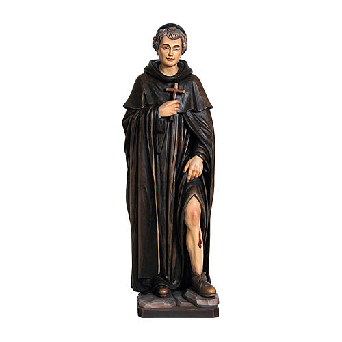 San Peregrino legno colorato Valgardena 1