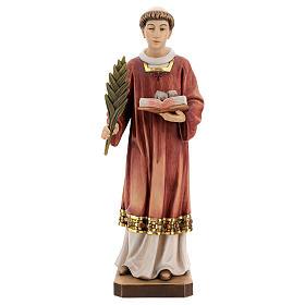 Santo Stefano legno colorato Valgardena s1