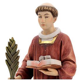 Saint Steven in coloured wood of Valgardena s5