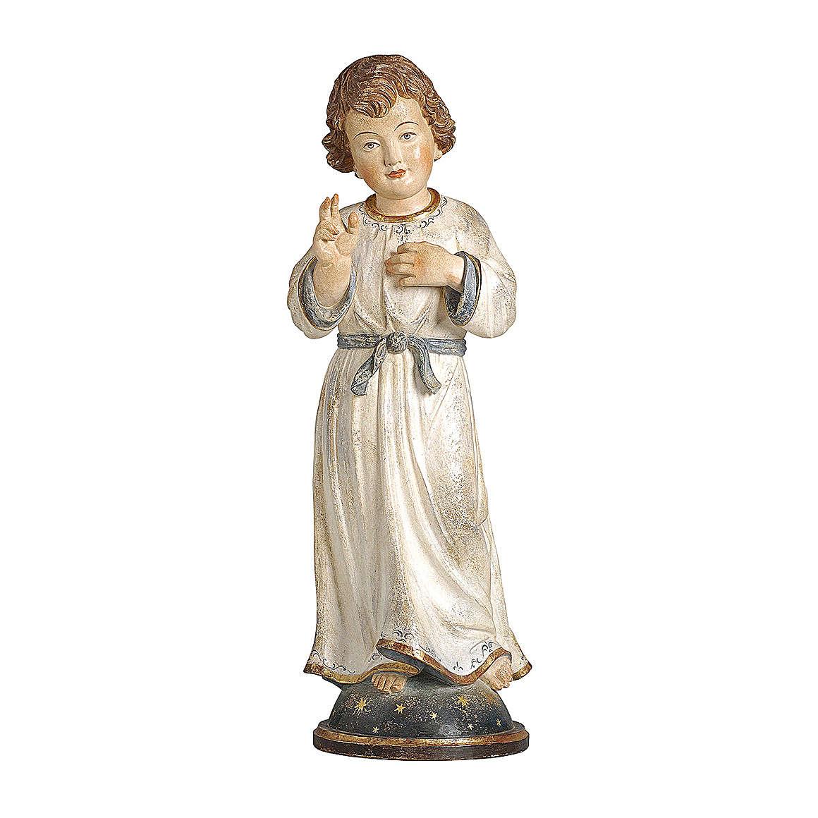 Gesù Adolescente legno oro zecchino Valgardena 62 cm 4
