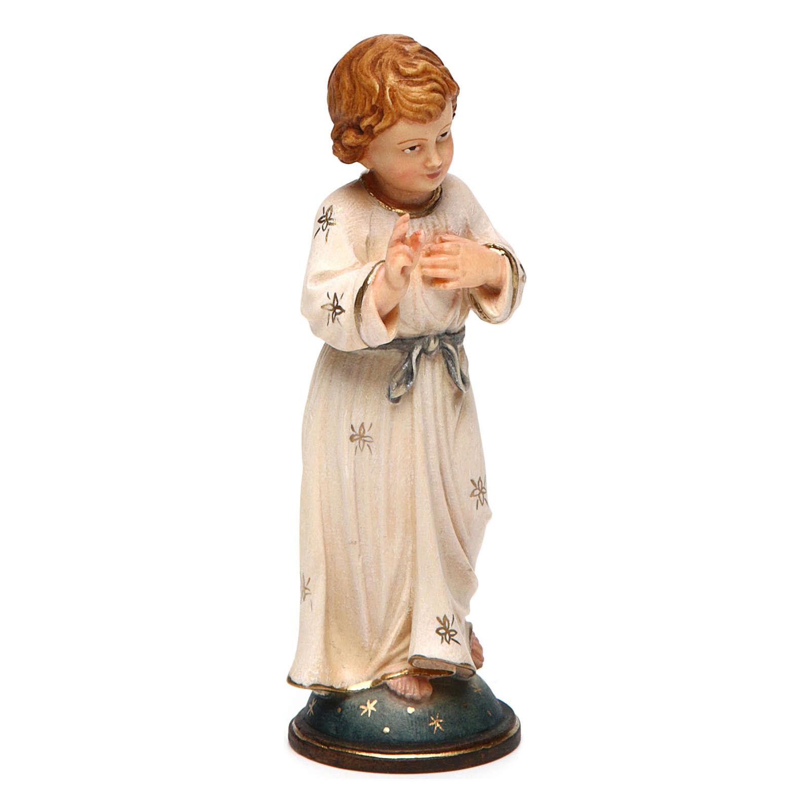 Gesù Adolescente 12 cm legno Valgardena in box 4