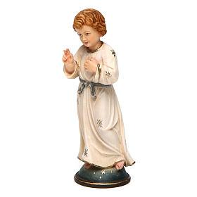 Gesù Adolescente 12 cm legno Valgardena in box s2