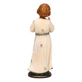 Gesù Adolescente 12 cm legno Valgardena in box s4