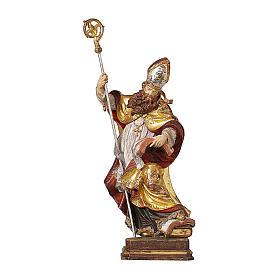 Vescovo legno manto oro zecchino Valgardena s1