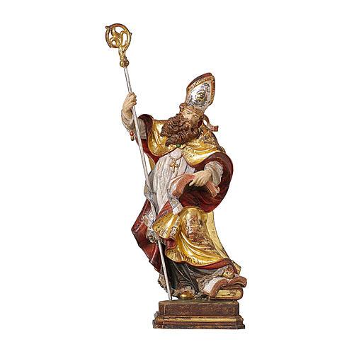 Vescovo legno manto oro zecchino Valgardena 1