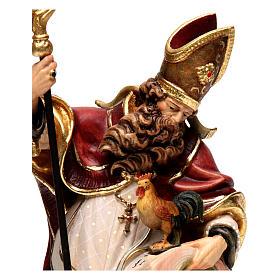 Saint Valentin avec coq bois coloré Val Gardena s2