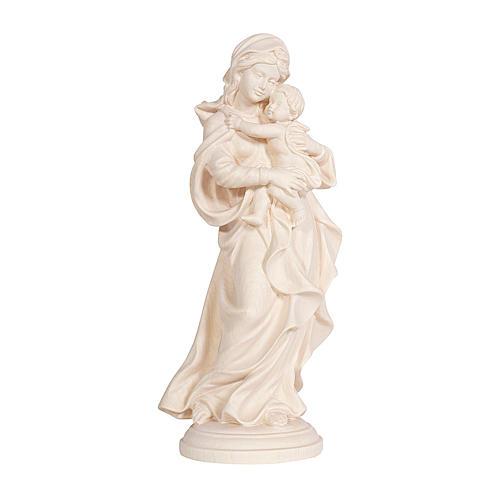 Madonna Raffaello legno Valgardena naturale 1