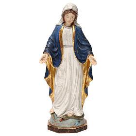 Imágenes de Madera Pintada: Virgen de las Gracias madera Val Gardena oro de tíbar antiguo