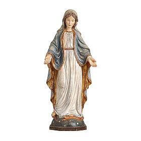 Madonna delle Grazie legno Valgardena oro zecchino antico s1
