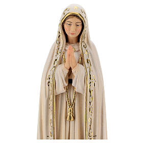 Our Lady of Fatima Capelinha in painted wood of Valgardena s2