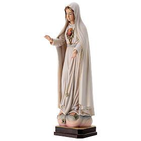 Virgen de Fátima 5. Aparición madera Val Gardena pintada s3