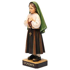 Shepherdess Jacinta in painted wood of Valgardena s2
