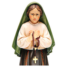 Shepherdess Jacinta in painted wood of Valgardena s5