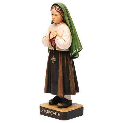 Shepherdess Jacinta in painted wood of Valgardena 2