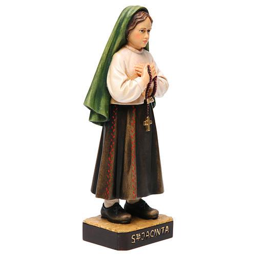 Shepherdess Jacinta in painted wood of Valgardena 3