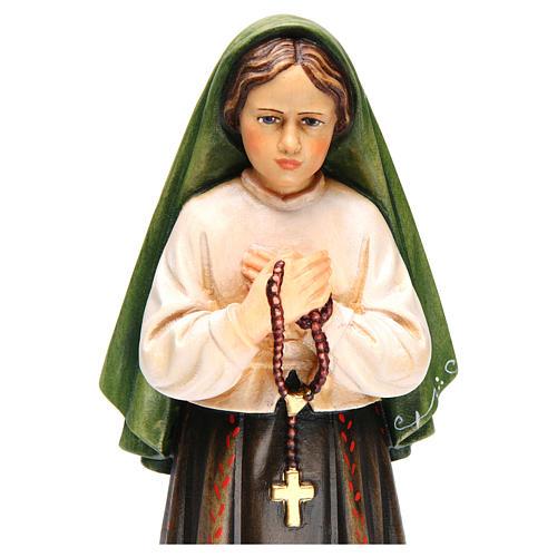 Shepherdess Jacinta in painted wood of Valgardena 5