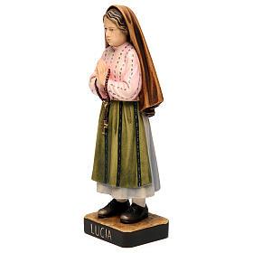 Shepherdess Lucia in painted wood of Valgardena s3