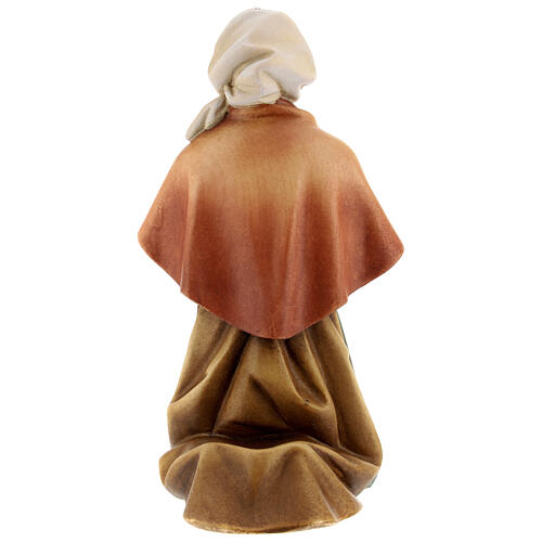 Saint Bernadette Statue wood painted Val Gardena 7