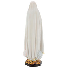 Statua Madonna di Fátima Capelinha legno dipinto Val Gardena s5