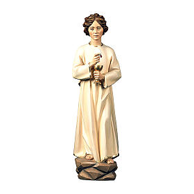 Angel of Peace of Fatima statue in painted wood, Val Gardena s1