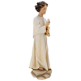 Angel of Peace Portugal Statue wood painted Val Gardena s6