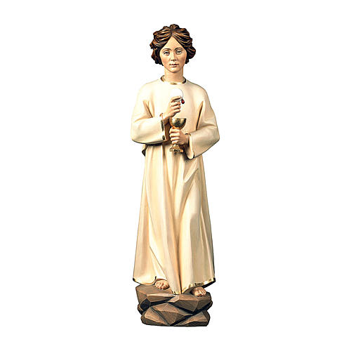 Angel of Peace Portugal Statue wood painted Val Gardena 1