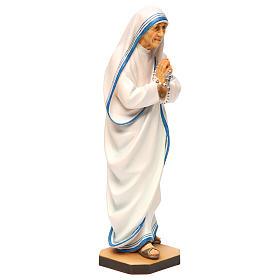 Saint Theresa of Calcutta Statue wood painted Val Gardena s4