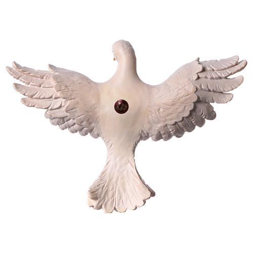 Statua Spirito Santo legno dipinto Val Gardena 2