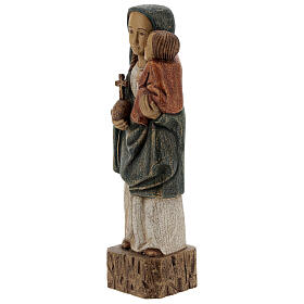 Wooden Our Lady statue Spanish style, 27 cm Bethleem nuns s3