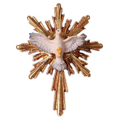 Holy Spirit statue in wood, Val Gardena 1
