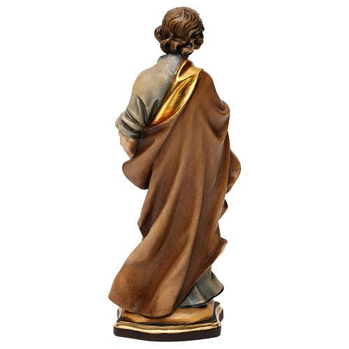 Heiliger Josef der Tischler Grödnertal Holz 5