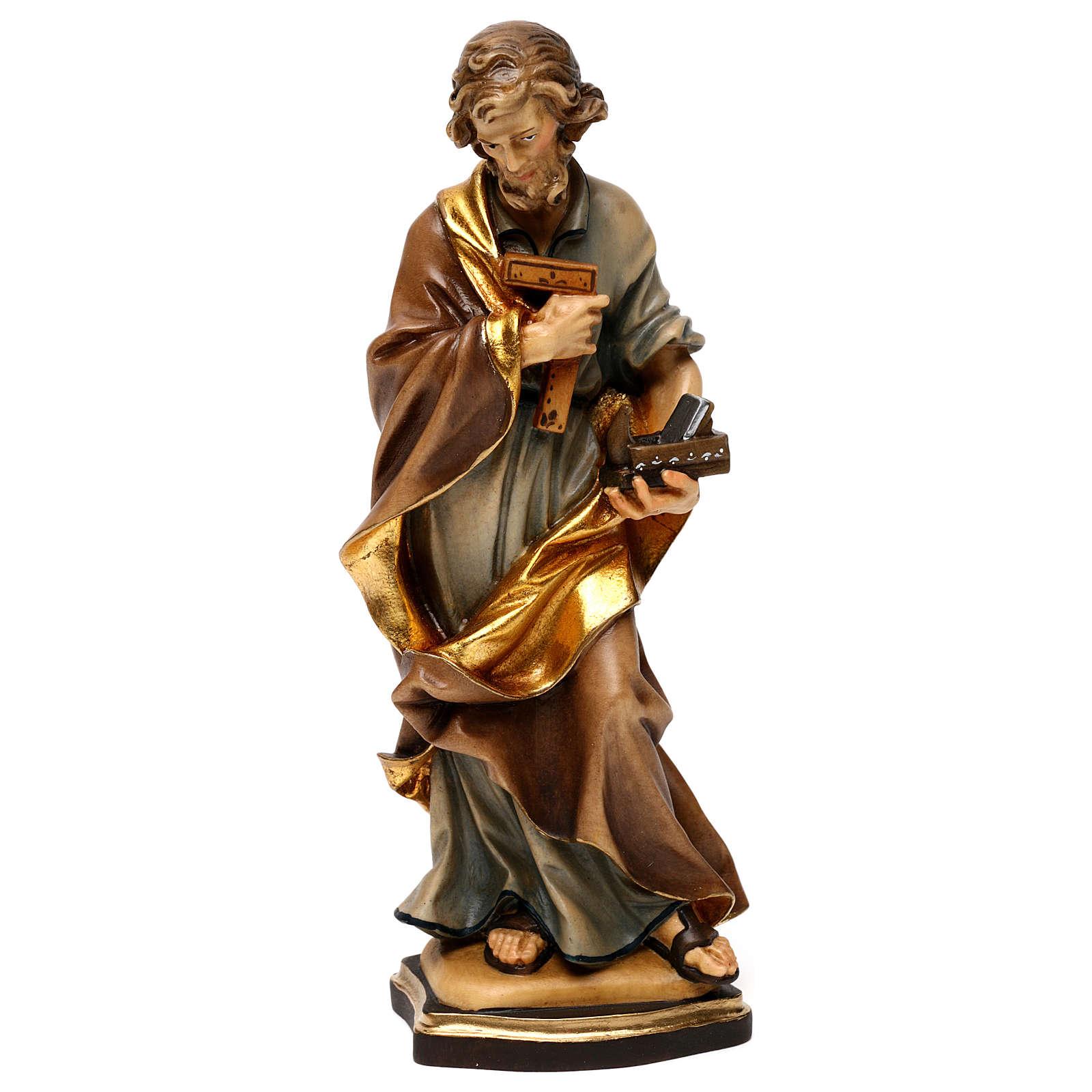 San Giuseppe artigiano legno Valgardena 4