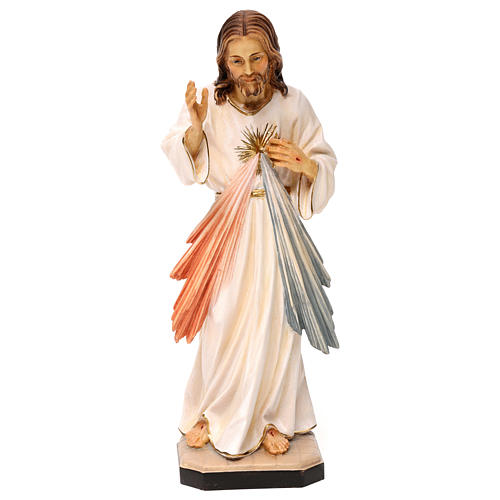 Christ miséricordieux bois Val Gardena 1