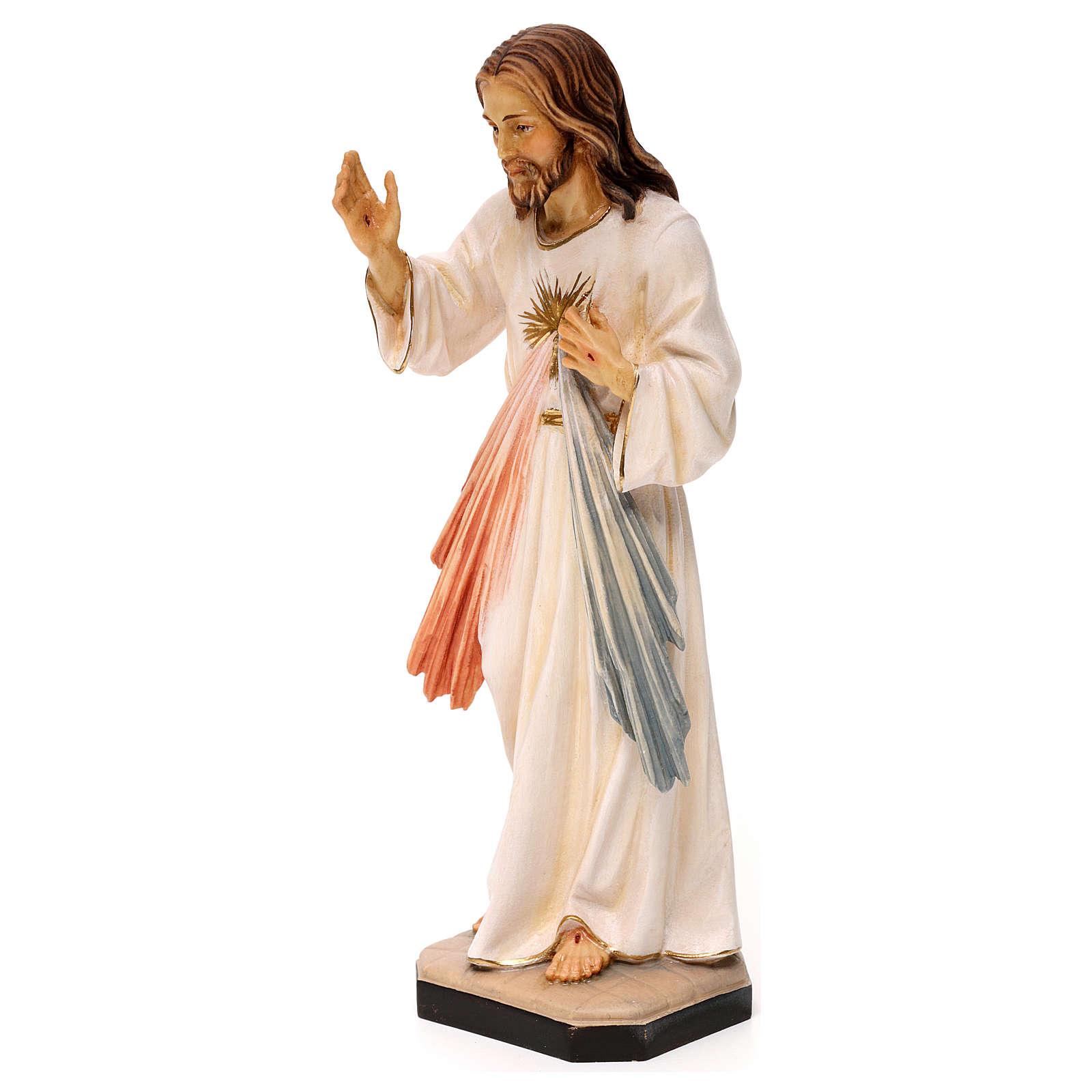 Gesù Misericordioso legno Valgardena 4
