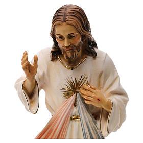 Gesù Misericordioso legno Valgardena s2
