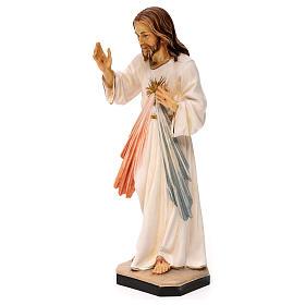Gesù Misericordioso legno Valgardena s3