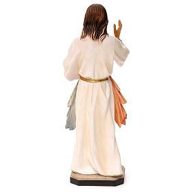 Gesù Misericordioso legno Valgardena s5