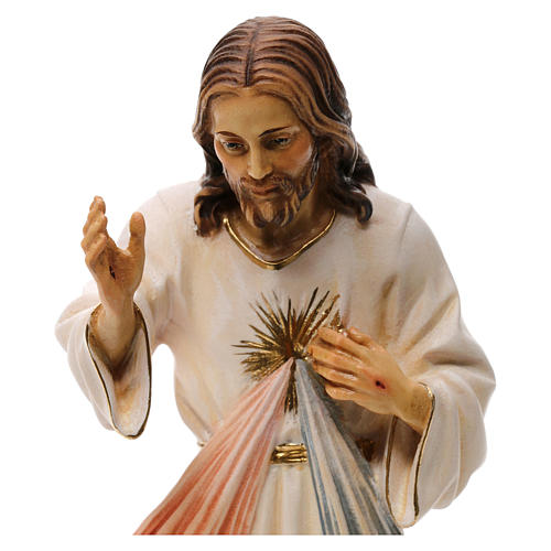 Gesù Misericordioso legno Valgardena 2