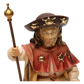 St. James the pilgrim statue in wood, Val Gardena s5