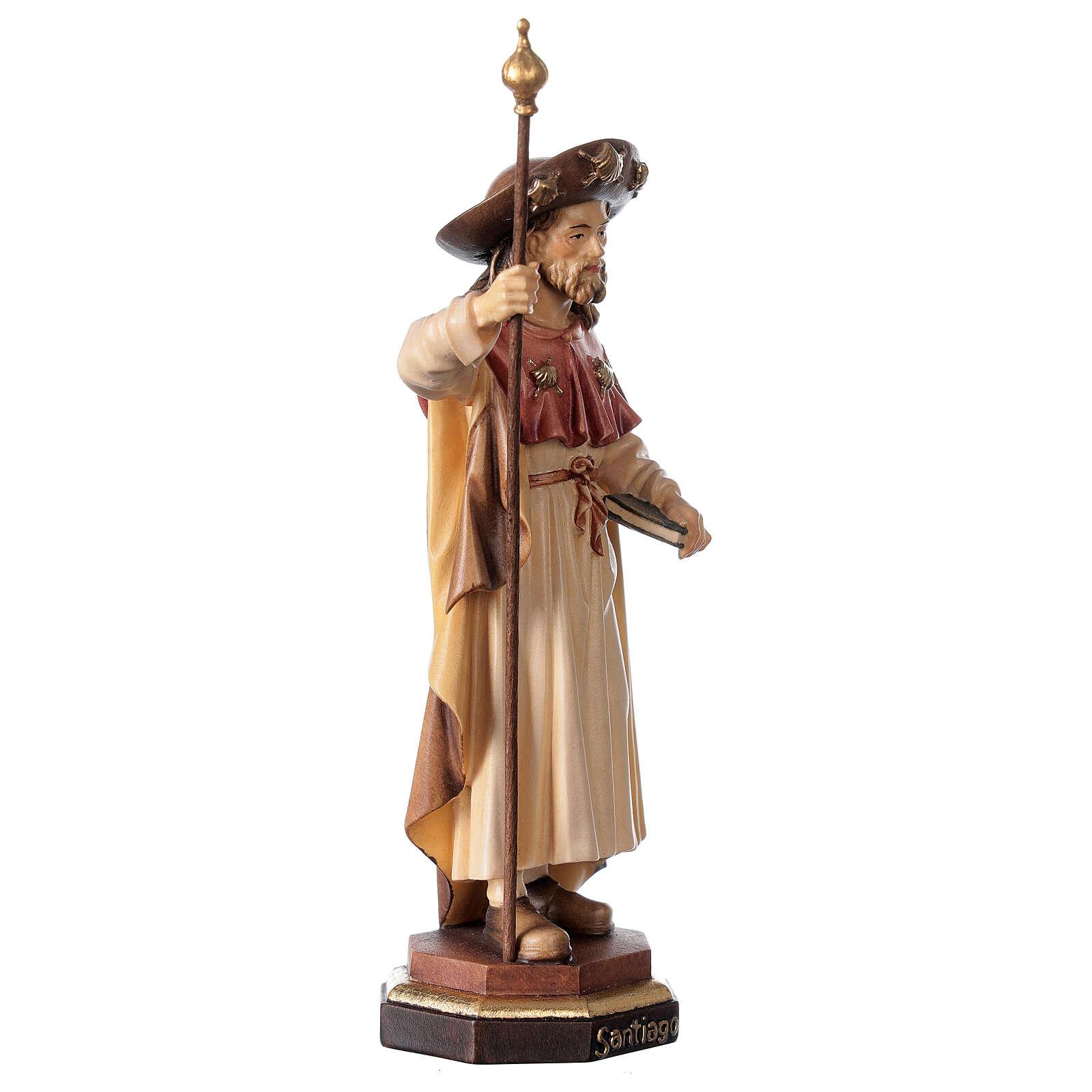 Santiago el Peregrino madera Val Gardena 4