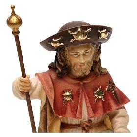 Święty Jakub Pielgrzym drewno Valgardena s5
